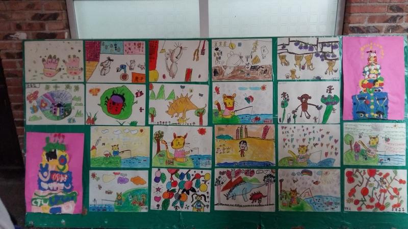 小学部一年级举办绘画兴趣班成果展