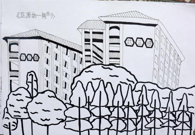 正源学校小学部千人绘画大赛获奖作品